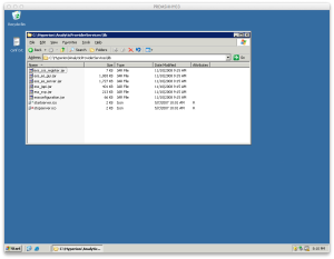 Hyperion Java lib folder screenshot