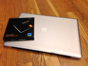 Samsung 840 Pro 512GB SSD Upgrade for my MacBook Pro