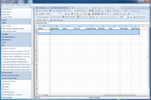Dodeca SQLView Excel template